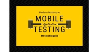 Mobile Testing Workshop @ 91Springboard NGV