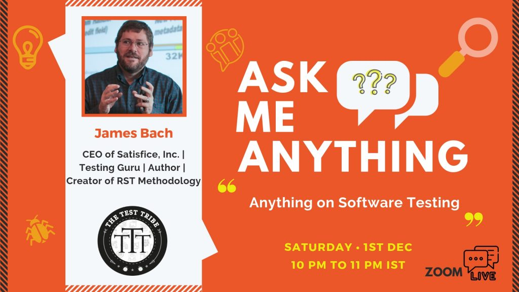 James Bach Software Testing